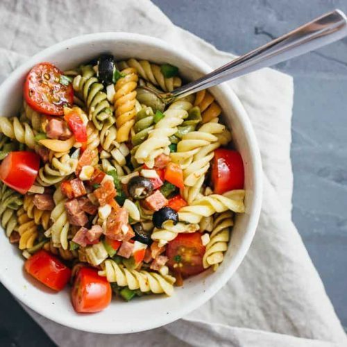 Easy Pasta Salad | Simple Lunch Ideas