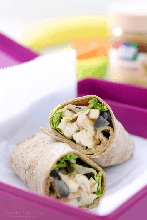 Apple Chicken Salad Wraps | Simple Lunch Ideas