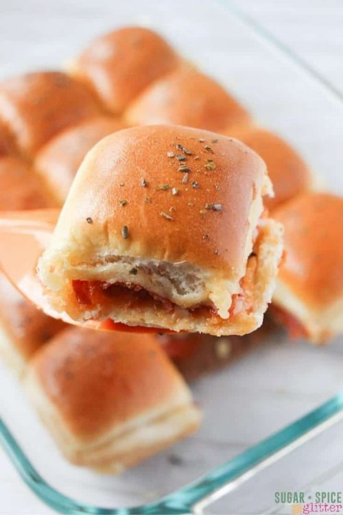 Pizza Sliders   Easy Lunch Ideas