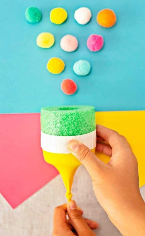 DIY Pom Pom Shooter & Stem Activities for Kids