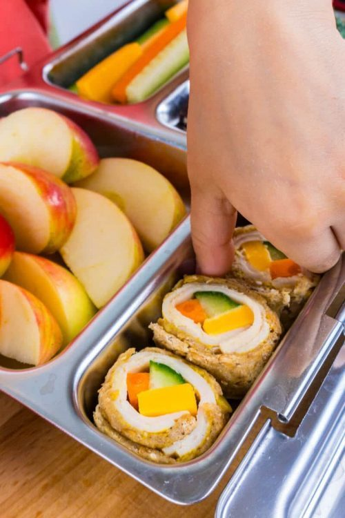 Sandwich Sushi Rolls   Healthy Lunch Ideas for Kids