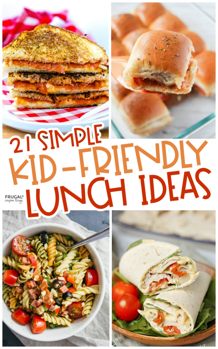 Simple Lunch Ideas for Kids