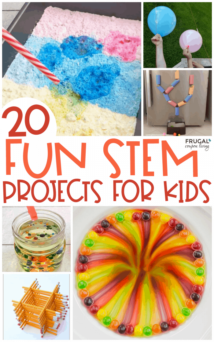 STEM Ideas | Math + Science Projects for Kids