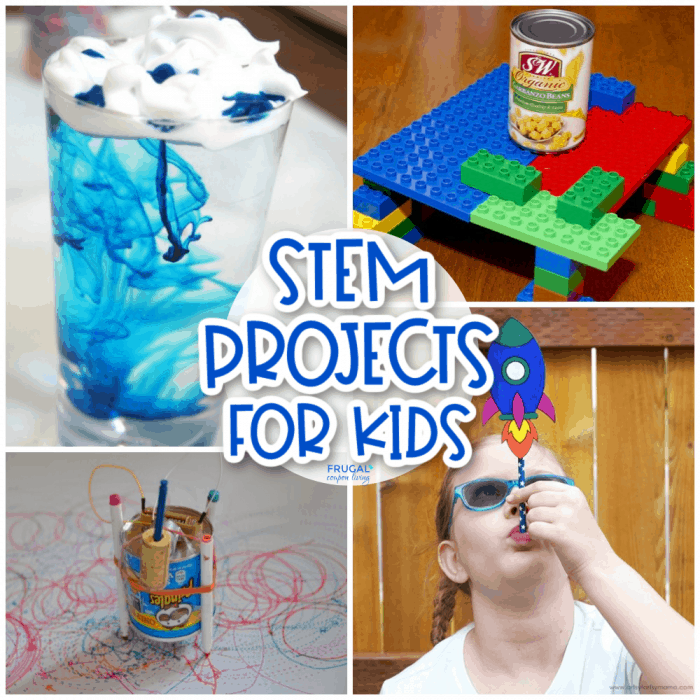 STEM Projects for Preschool, Elementary & Middle School