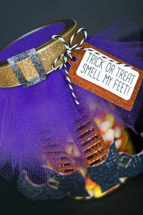 Mason Jar Halloween Gift Idea