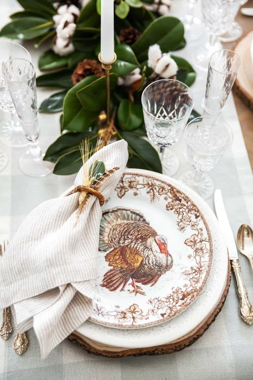 Spode Thanksgiving Place Settings