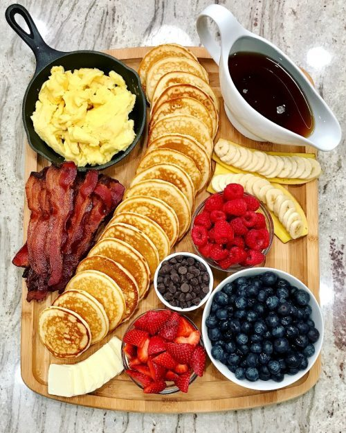 Easy Breakfast Board & Snack Boards Ideas