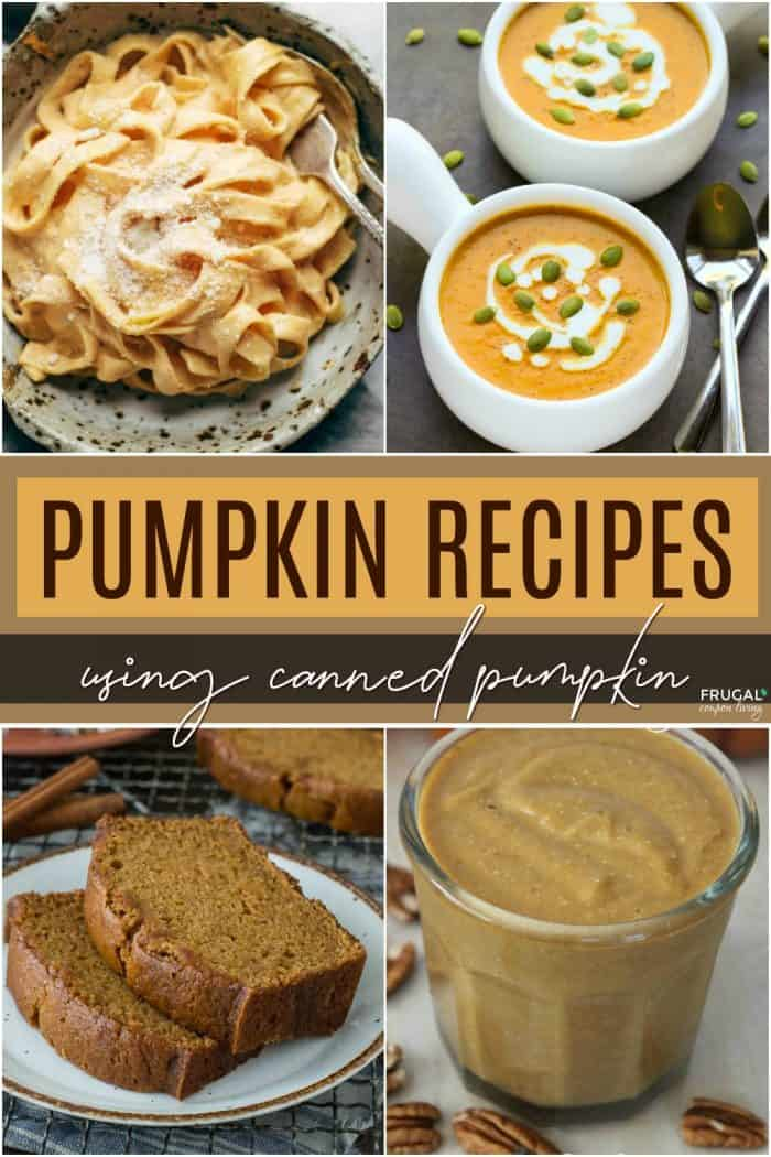 Canned Pumpkin Recipe Ideas for Fall