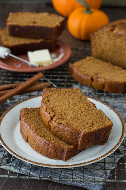 Copycat Starbucks Pumpkin Bread + Pumpkin Recipes