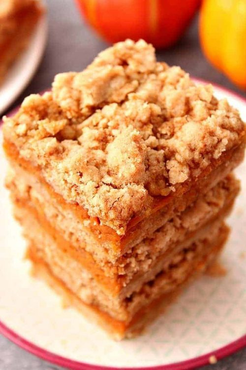 Pumpkin Pie Bars + Pumpkin Dessert Recipes