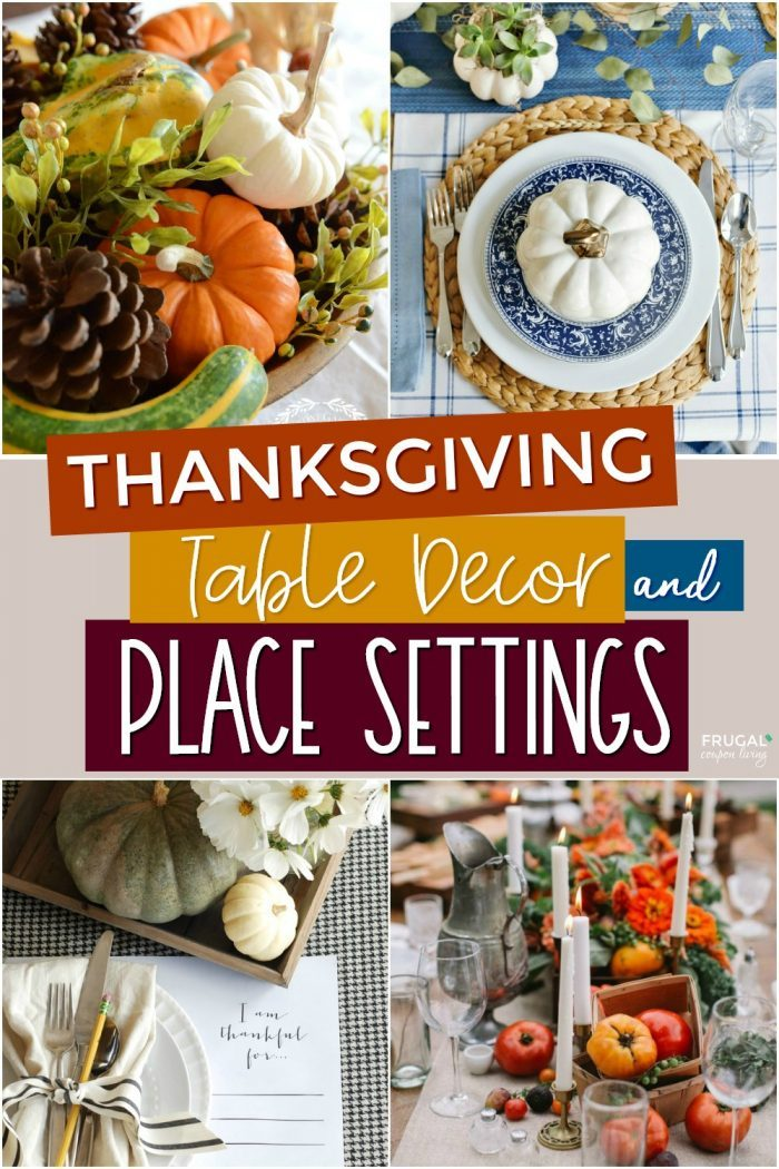 Easy Thanksgiving Decorations for the Table
