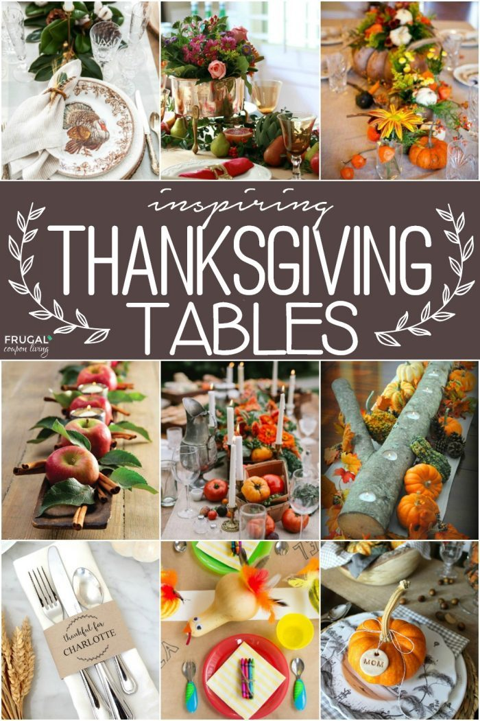 Inspiring Thanksgiving Table Decor and Place Settings