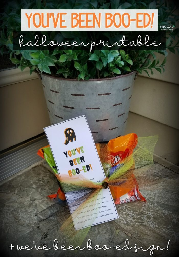 You've Been Boo-ed Treat Basket Ideas
