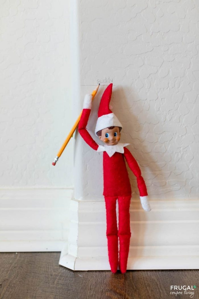 Elf on the Shelf Growth Chart - Fun to New Heights