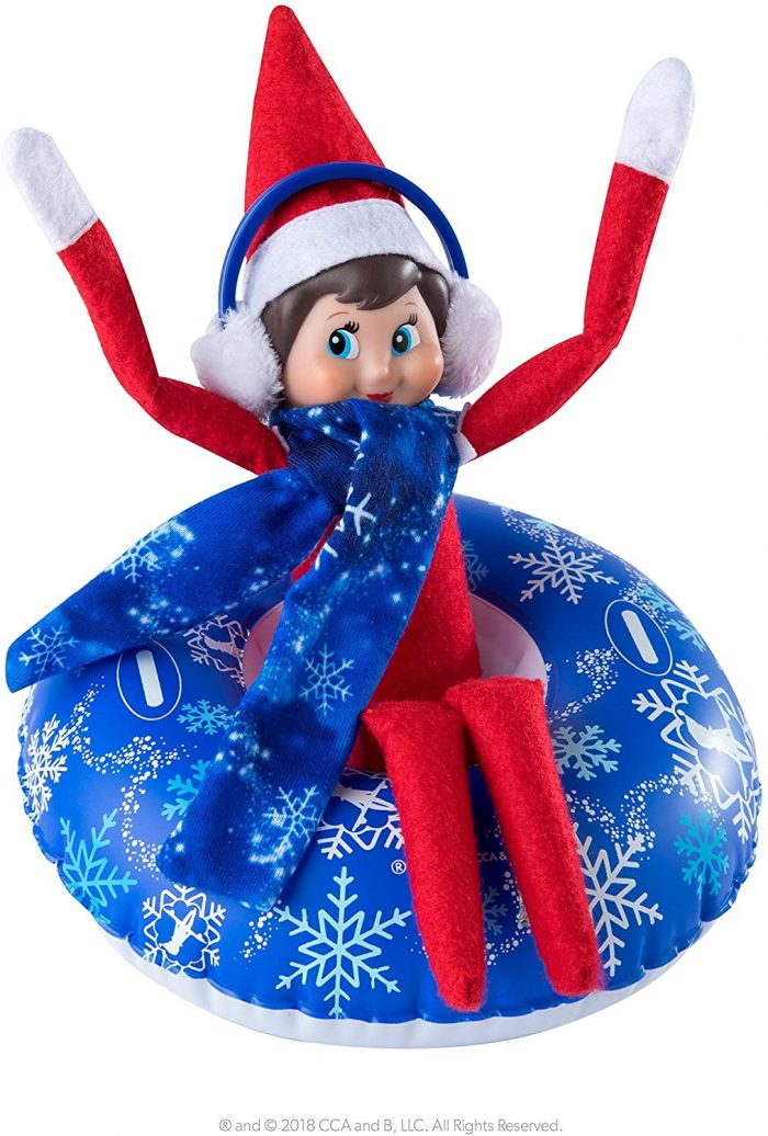 Elf Claus Couture Totally Tubular Snow Set