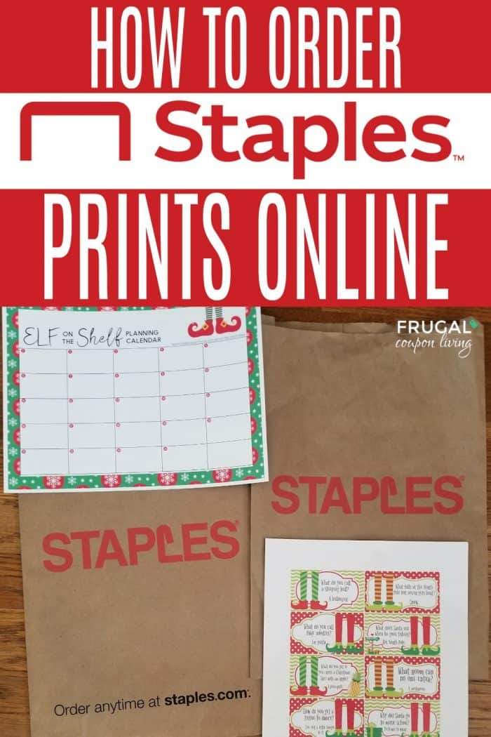 How to Order Printables at Staples