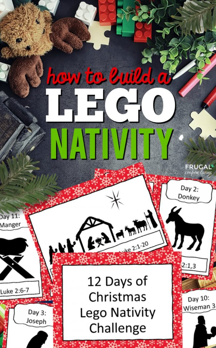 How to Build a LEGO Nativity