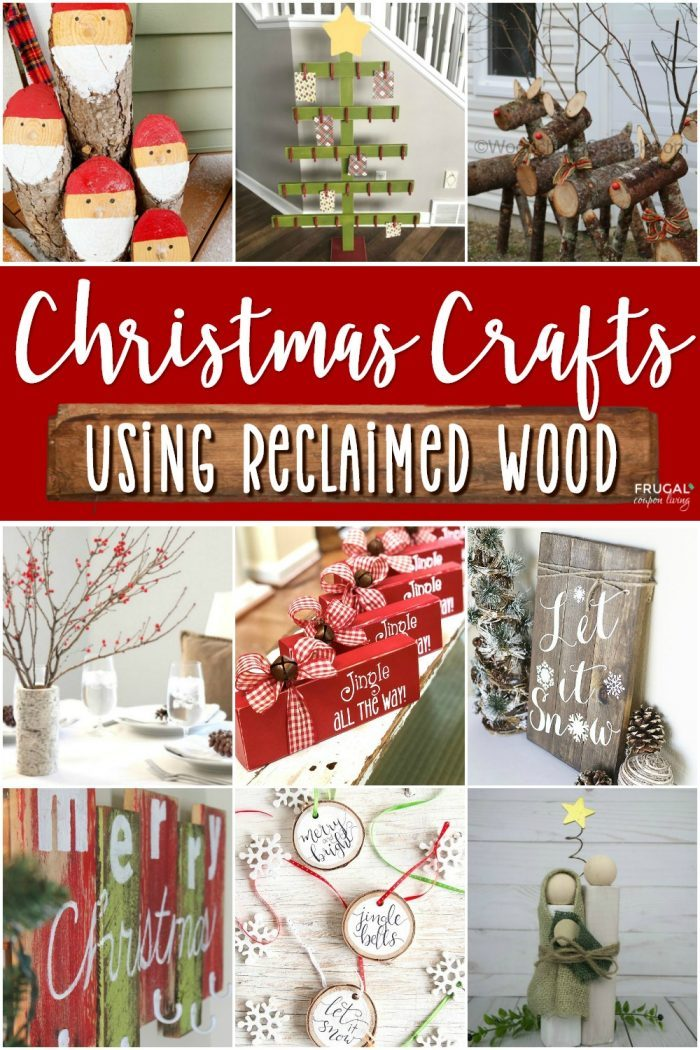 Reclaimed Wood Christmas Decorations