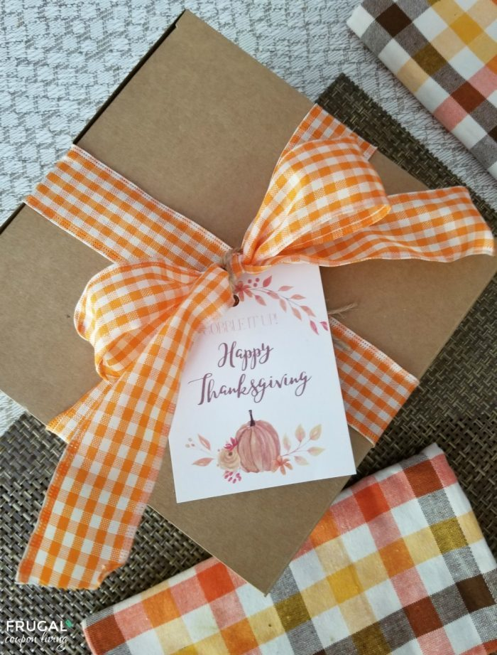 Thankgiving Gift Tag Printable Gobble It Up