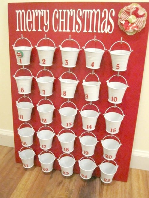 Dollar Tree DIY Advent Calendar