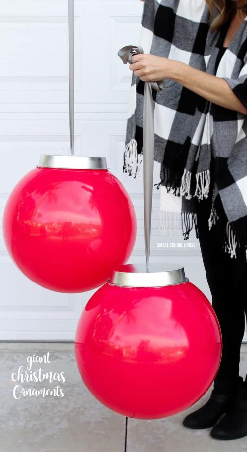 Beach Ball Large Outdoor Christmas Ornaments