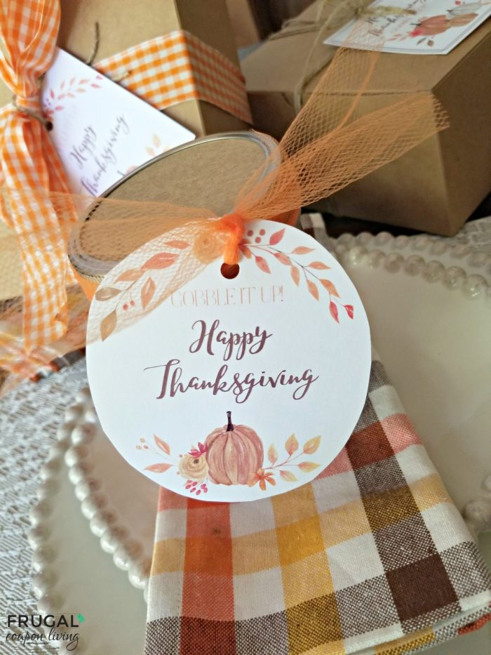 Google It Up Happy Thanksgiving Gift Tag Printable