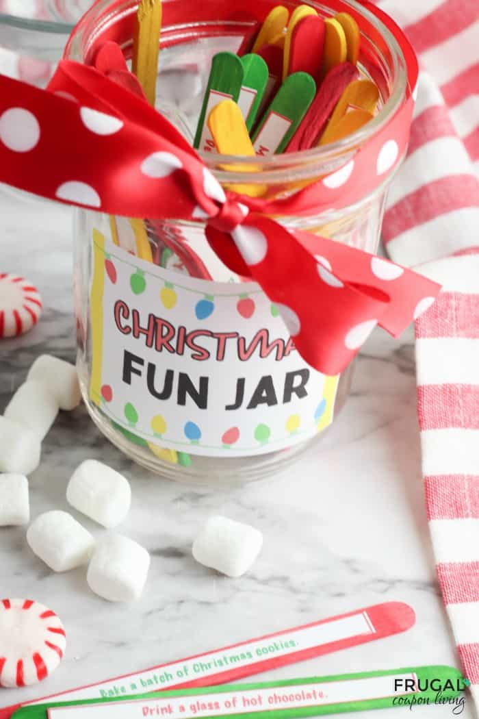 DIY Christmas Craft with a Mason Jar