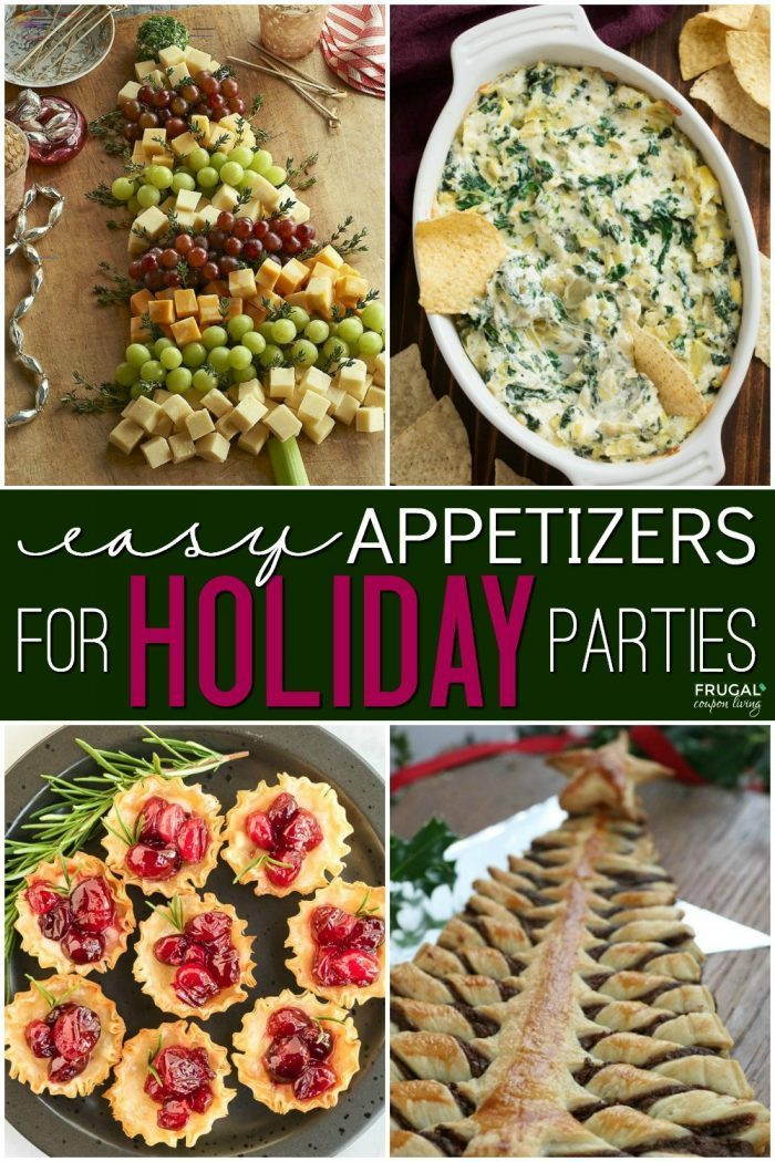 Holiday Appetizer Ideas for Parties