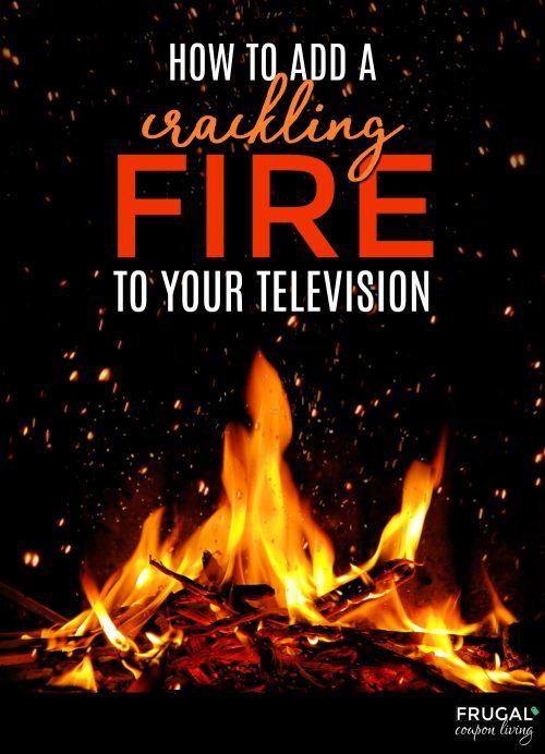 how to add a relaxing fireplace screensaver for TV with YouTube