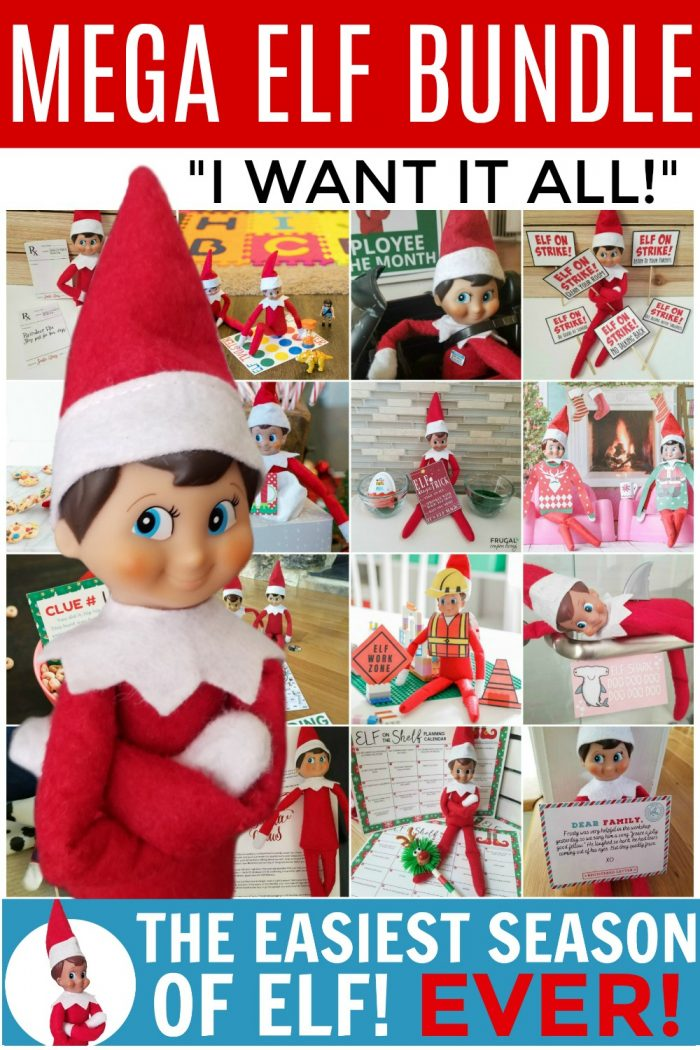 Easiest Elf Season Ever | 96 Elf Ideas in this Printable Set