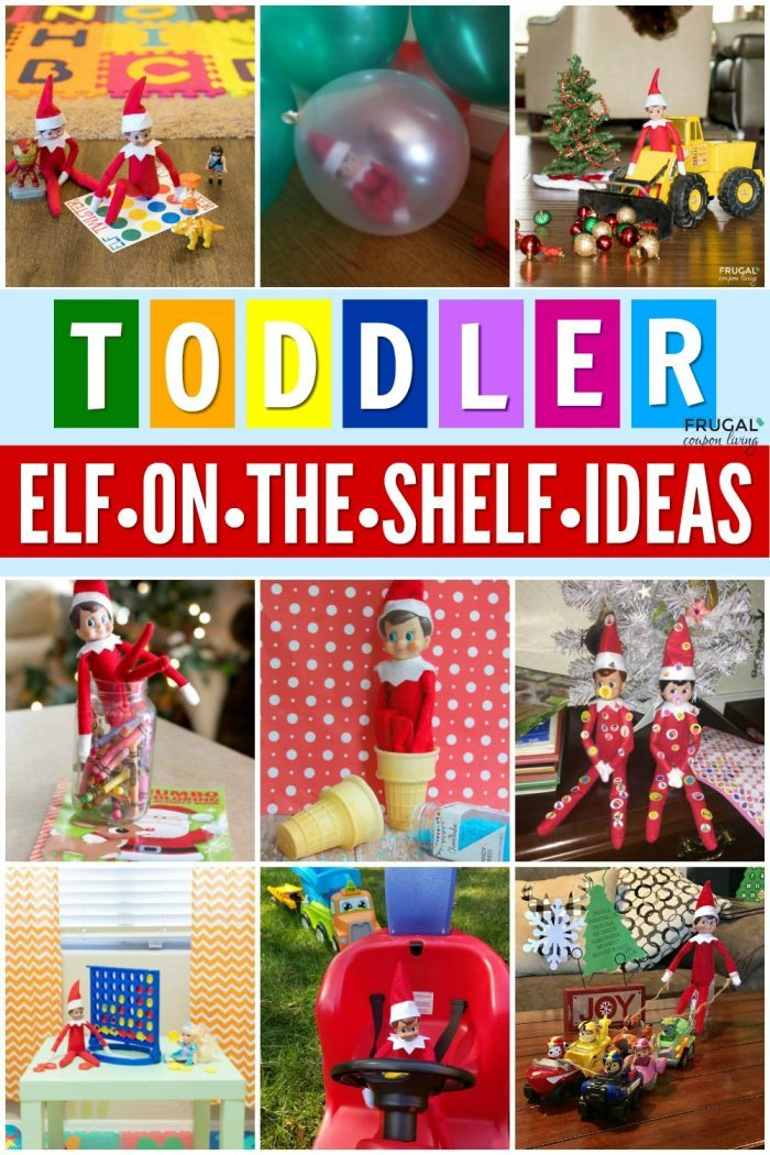 Elf on a Shelf Toddler Ideas