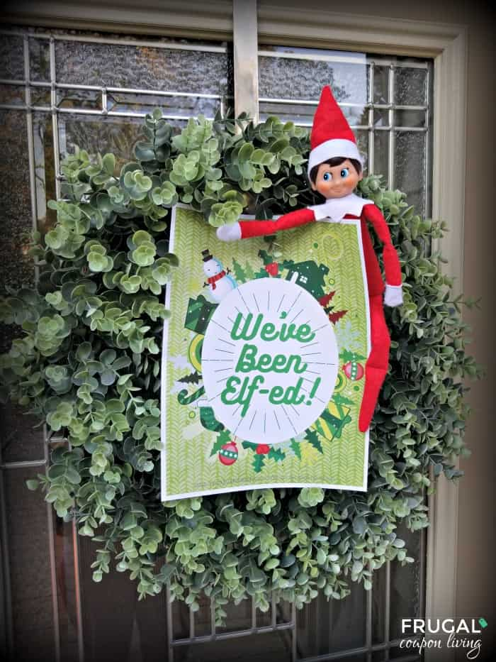 Weve Been Elfed Printable and Youve Been Elfed Christmas Tradtion