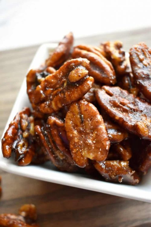 Easy Candy Pecans