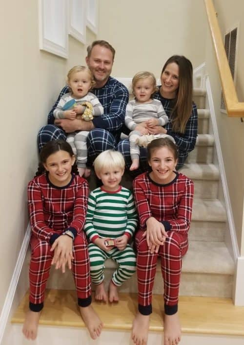 Matching Christmas Pajamas for a family