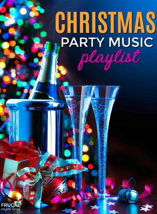 Christmas Party Music Playlist & Holiday Hosting Ideas