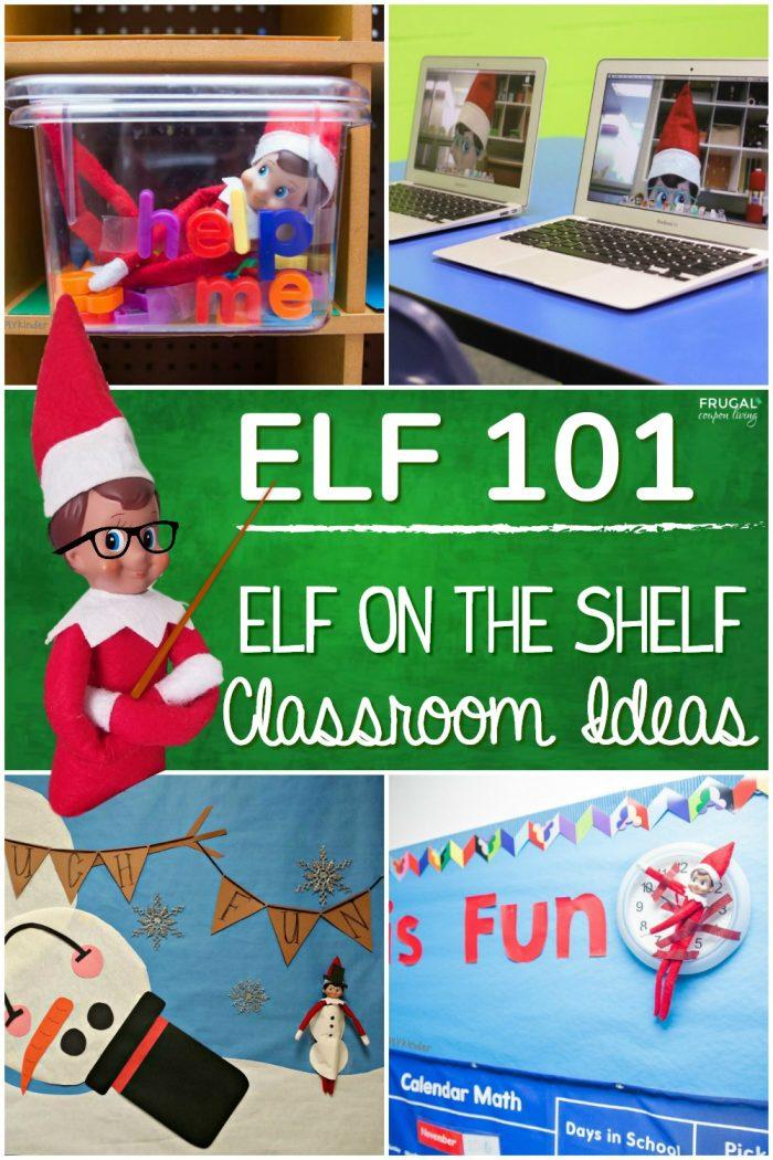 School Elf on the Shelf Classroom Ideas for Teachers & Students