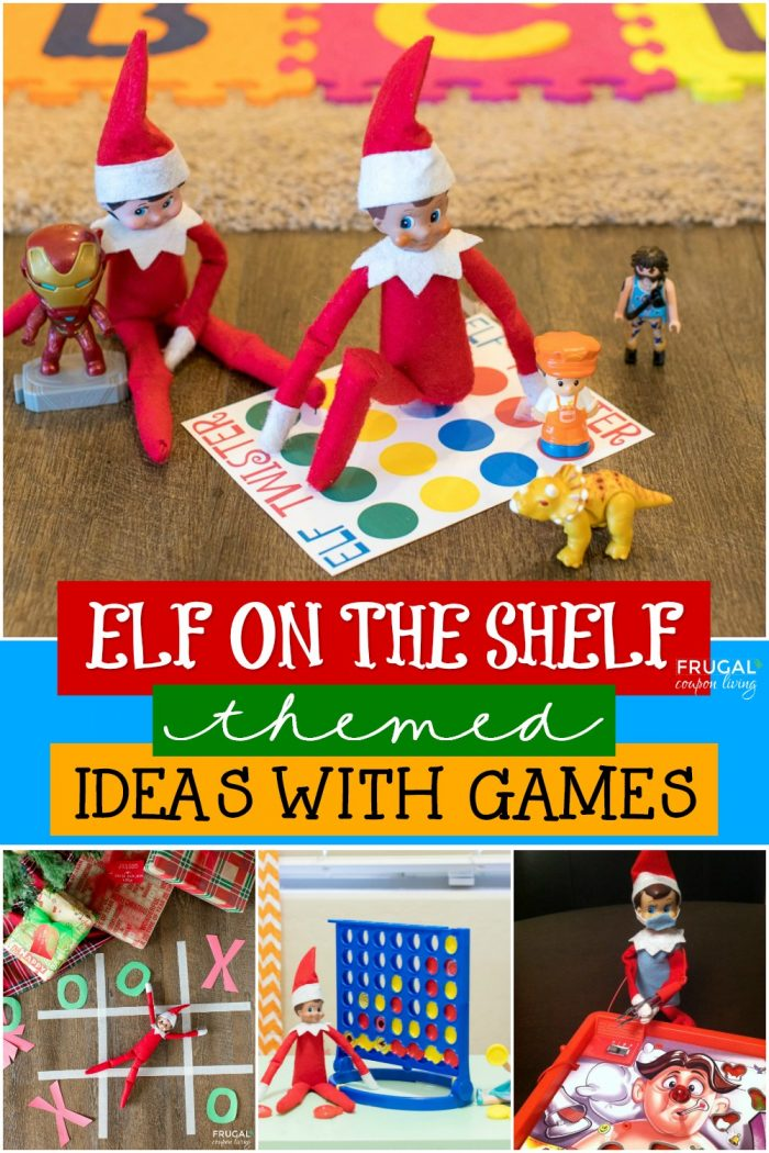 Elf on the Shelf Games Ideas