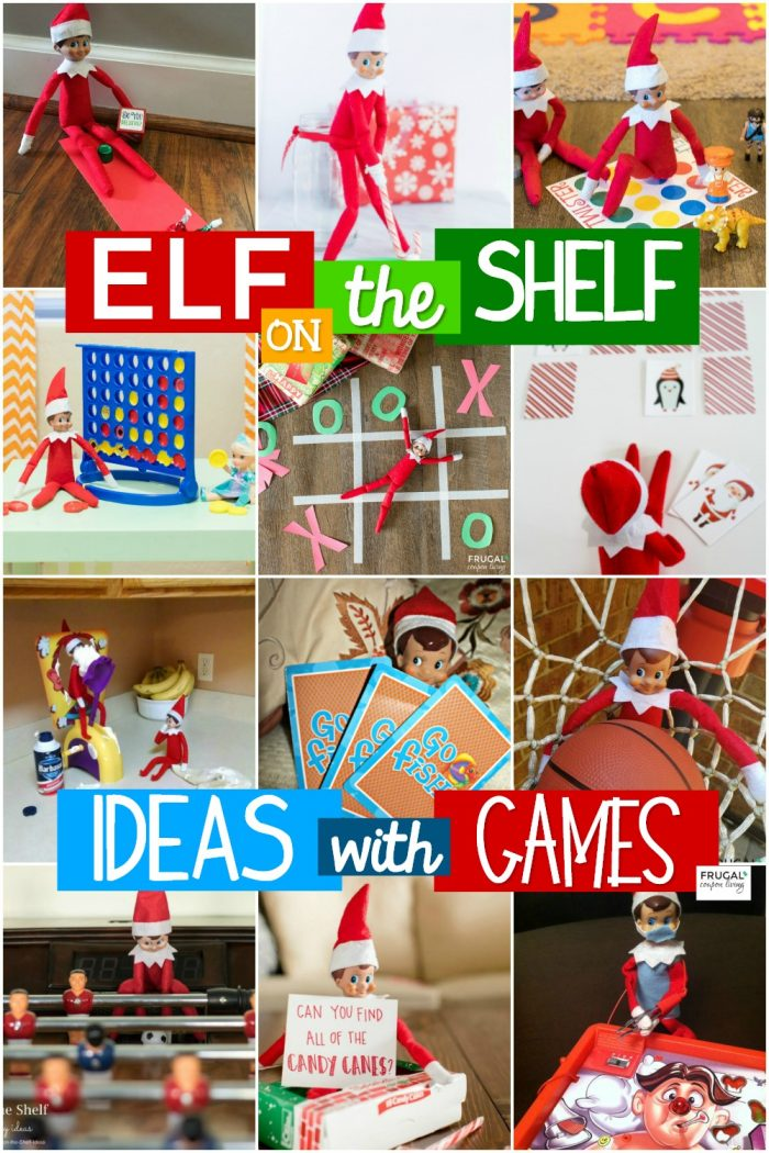Elf on the Shelf Ideas with Games