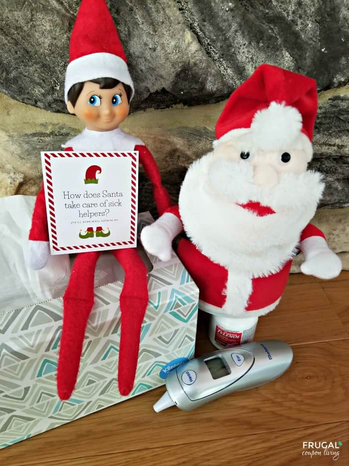 Santa Elf on the Shelf Jokes - 30 Days of Elf on a Shelf Jokes Cards
