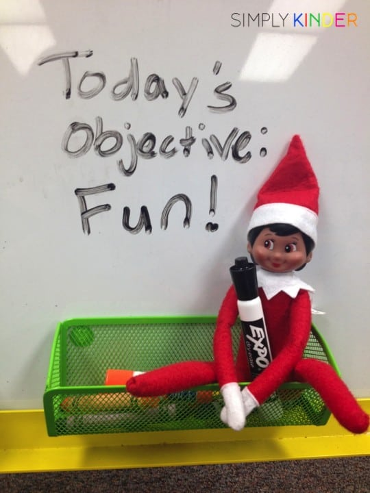 Elf on the Shelf Classroom Lesson - Let's Have Fun!