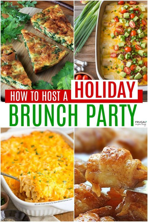 How to Host a Holiday Party for Brunch