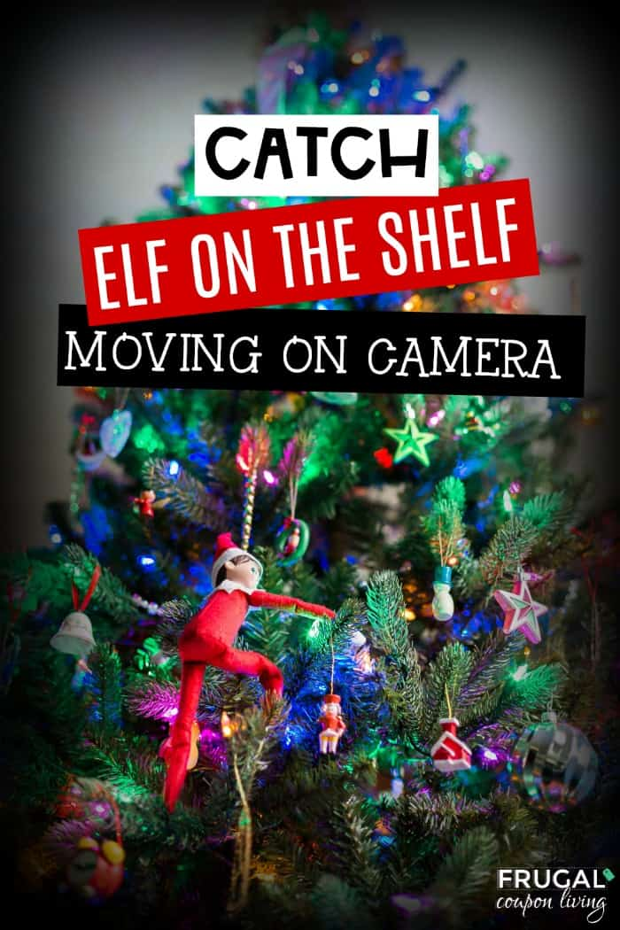 How to catch Elf on the Shelf moving on camera