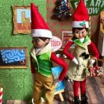 Elf on the Shelf Portrait Museum Paintings
