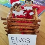 Elf on the Shelf Pretzel Fort | Elves Only