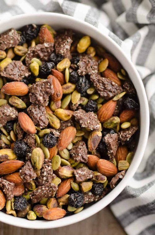 Blueberry Dark Chocolate Superfood Trail Mix