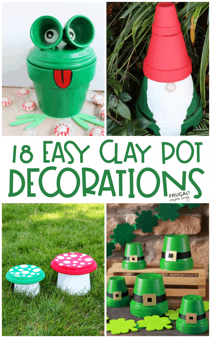 Everyday Clay Pot Decorations | Clay Pot Crafts for Every Season