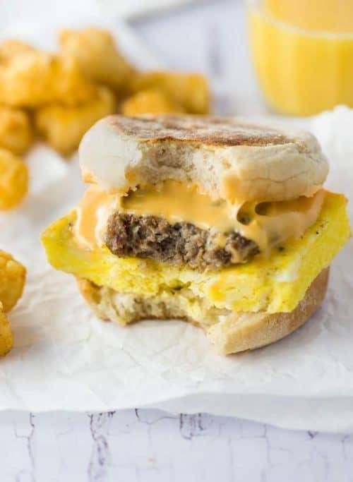Make-Ahead Freezer Breakfast Sandwiches and Simple Breakfast Ideas