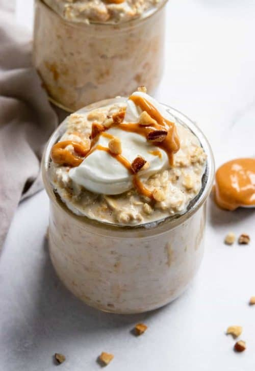 Peanut Butter Overnight Oats + Easy Breakfast Recipes for Adults