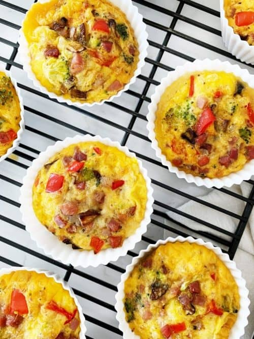 Healthy Prosciutto Egg Muffins + Simple Breakfast Ideas
