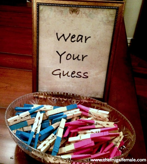Wear Your Guess He or She Gender Reveal Ideas for a Party
